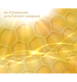 Honeycomb abstract background vector image