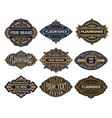 mega pack labels and banners vector image vector image