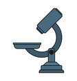 microscope scientific tool vector image
