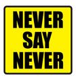 showing a Famous slogans vector image