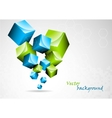 abstract background with 3d element