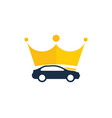 crown automotive logo icon design vector image vector image