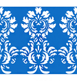 damask wallpaper design vector image vector image
