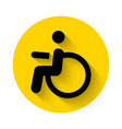 Disabled icon vector image vector image