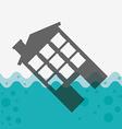 house insurance design vector image