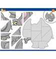 jigsaw puzzle with elephant