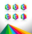 Letter Logo Design vector image vector image
