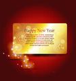 shiny happy new year vector image vector image