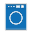 washing machine isolated icon design vector image