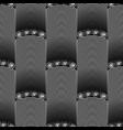 3d geometric seamless pattern columns greek key vector image