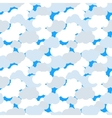 Clouds in blue sky seamless pattern vector image vector image