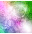 crazy circles var vector image vector image