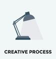 Desk Lamp Icon vector image