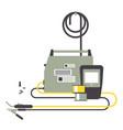 electrical welding equipment vector image