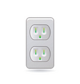 female plug vector image