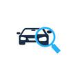 find automotive logo icon design vector image