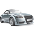 germany compact sport car vector image vector image