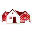housing symbol vector image