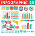Infographic Elements 20 vector image vector image