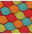 Seamless abstract hand drawn pattern with waves
