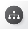 structure icon symbol premium quality isolated vector image