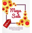Super summer sale banner vector image