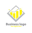 business rate logo designs vector image vector image