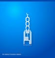 eid mubarak creative typography showing a minaret vector image
