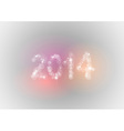 new year abstract vector image