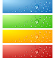 Wet surfaces vector image vector image