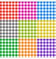 picnic tablecloth checkered seamless vector image