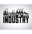 industry concept vector image