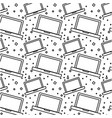 laptop computer pattern background vector image vector image