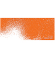 orange texture vector image vector image