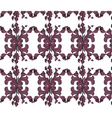 Classic vintage ornament pattern vector image