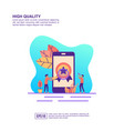 concept high quality modern conceptual for vector image vector image