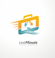 creative logo design concept for travel agency vector image vector image