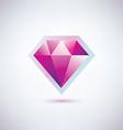 gem symbol vector image vector image