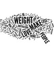 love can make you lose weight text background vector image vector image