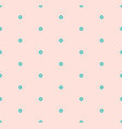 minimalist seamless pattern with small hexagons vector image vector image