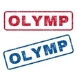 Olymp Rubber Stamps vector image vector image