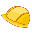 safety hat vector image vector image