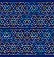 seamless jewish pattern vector image vector image