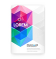Visual identity with letter logo elements vector image vector image