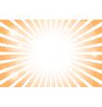 Sunburst with sun flare background vector image