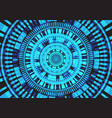 abstract blur light circle circuit system energy vector image