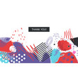 abstract universall header vector image vector image