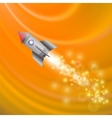 Space Rocket Launching Spacecraft vector image vector image