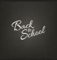stock calligraphy back vector image
