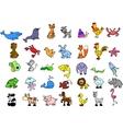 Cute Animal Icon Set vector image